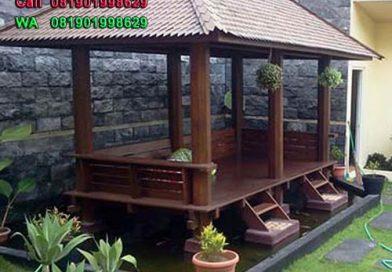 gazebo-rumah | Gazebo atau Saung Rumah Bandung